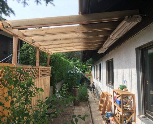 Überdachung Terrasse