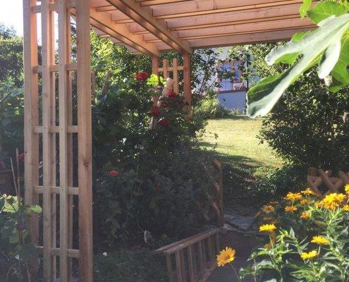 Garten Pergola Sichtschutz