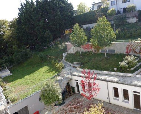 Gartengestaltung Wohnhausanlage