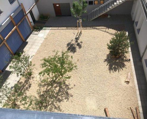 Gestaltung Schulhof