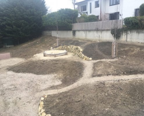 Gartenanlage Gestaltung